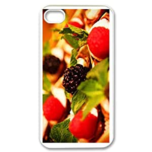 Dessert Theme Phone Case Designed With High Quality Image For iPhone 4,4S
