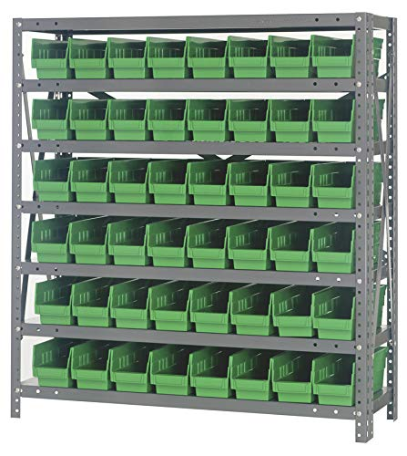 - Quantum Storage Systems 1239-101GN Shelf and Bin Unit, 12