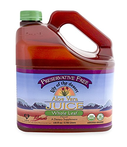 Lily Of The Desert, Whole Leaf Aloe Juice, Preservative Free, 1 (Desert Whole Leaf Aloe)