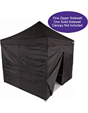 Impact Canopy Side Wall Kit, Canopy Walls for 10x10 Instant Pop Up Canopy Tent, Walls Only, 2 Pack, Black