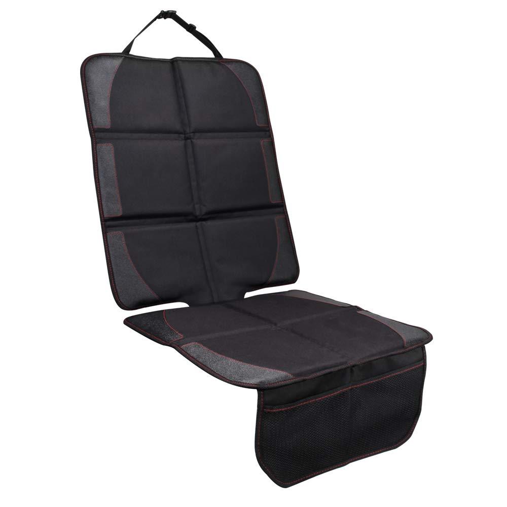 Auto-Kindersitzunterlage wasserabweisend Autositzschutz Schoner in universeller Passform JVMAC Premium Oxford Material zum Schutz vor Kindersitzen Isofix geeignet Unterlage Autositzauflage
