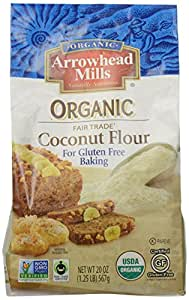 Arrowhead Mills Organic Gluten Free Coconut Flour, 20 oz