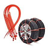 Bang4buck Universal Anti-Skid Tire Snow Chains