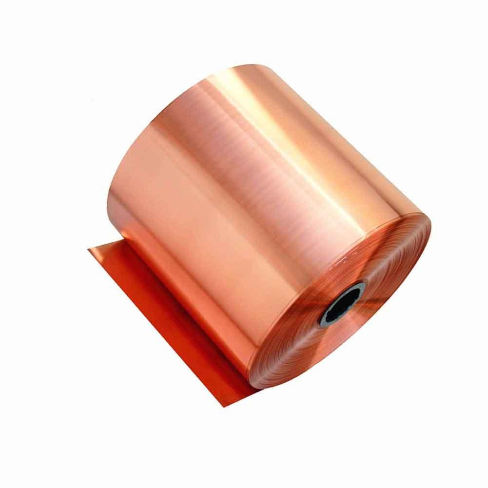 0.05mm Grueso EULAGPRE 10cmx1m Metal Cobre Chapa Guillotina Corte Material 0.01mm