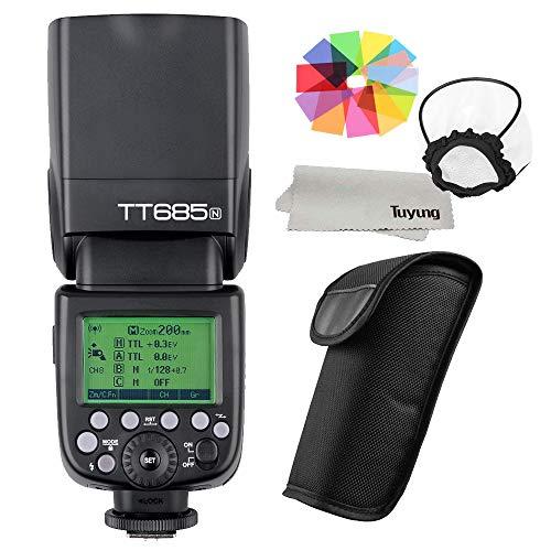 Godox TT685/N TT685N Speedlite High-Speed Sync External TTL for Nikon Flash D80 D90 D7100 D5100 D5200 D3100 D3200