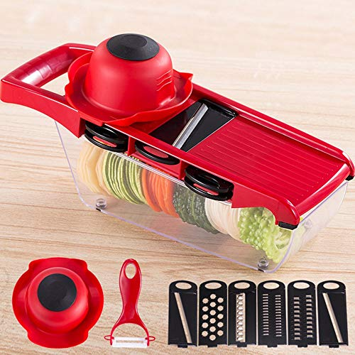 Price comparison product image Shredders Slicers - 1pc Stainless Steel Slicer Vegetable Cutter Grater Chopper Julienne Container Shredders - Kitchen Steel Stainless Carrot For Plastic Fruit Potato Toast Ginger