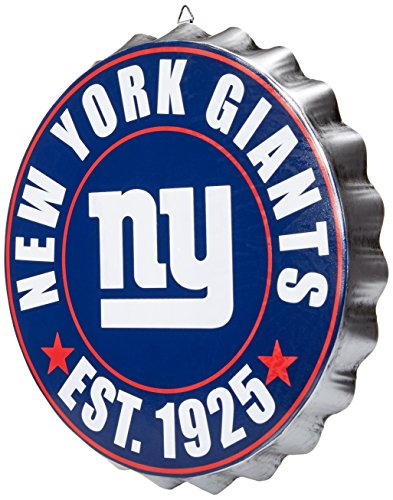 New York Giants 2016 Bottle Cap Wall Sign from FOCO