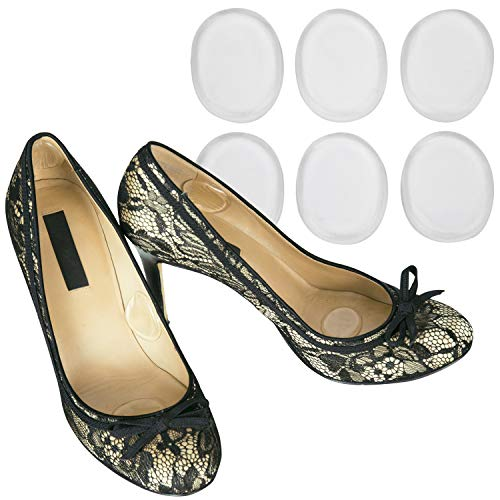 Vivesole Shoe Blister Pads - Sore Pain Prevention Foot Adhesive Shoe Cushion - Silicone Gel Soft Spot Sticker - Grip Insert Stickers - Loose Fit Feet Guard for Metatarsal, Heel, Achilles, Ball of Foot ()
