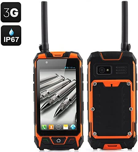 4.5 Inch Rugged Smartphone - 3G, Walkie Talkie, Dustproof ...