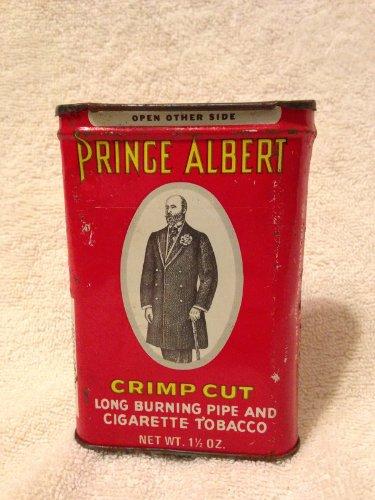 (Old Prince Albert Tobacco Tin Can 1 1/2 Oz)