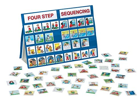 Lauri Tabletop Pocket Charts - Four Step Sequencing