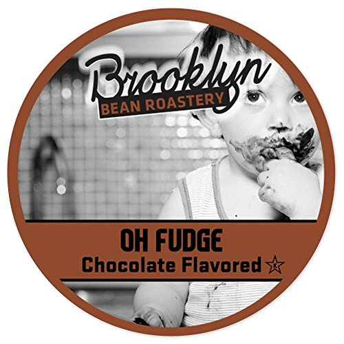 Brooklyn Beans Oh Fudge Chocolate Flavored Coffee Single Serve Cup -  24 Count