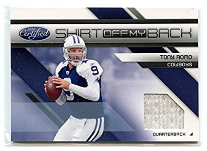 2010 Certified Shirt Off My Back Jersey  7 Tony Romo Cowboys at ... 1ca13cda5