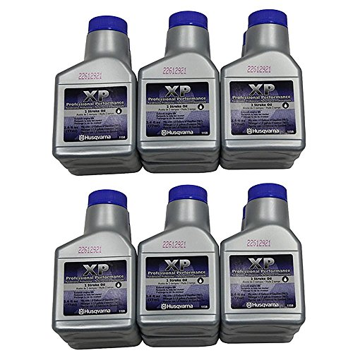 Cycle 2 (Husqvarna XP 2 Stroke Oil 2.6 oz. Bottle 12-Pack)