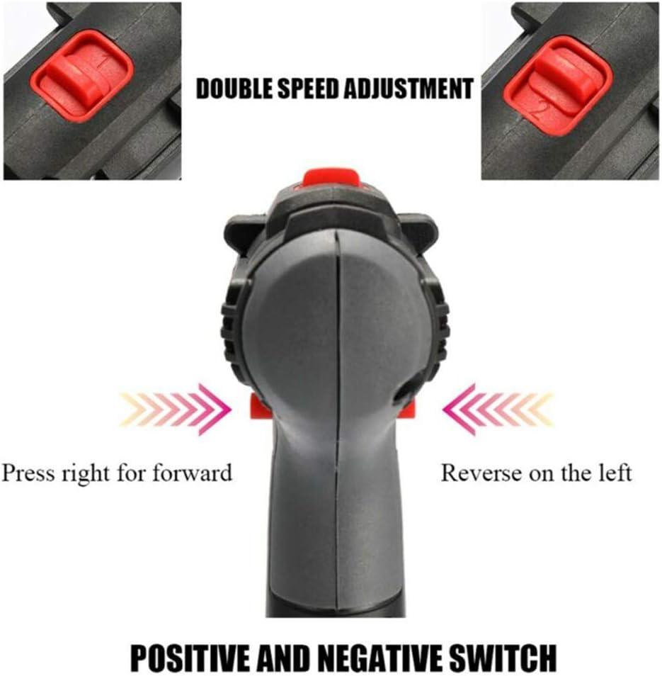 Taladro atornillador el/éctrico bater/ía de iones de litio Didatecar doble 2 marchas bater/ía de 36 V