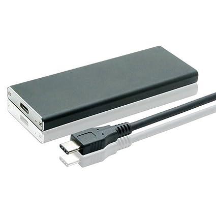 80mm USB-C 3.1 to M.2 NGFF SATA 2 Lane SSD Enclosure for E431 E531 X240 Y510P