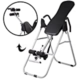 Adjustable Folding Inversion Table Inversion Machine With Comfort Backrest