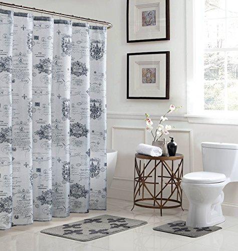 Bath Fusion Fleur De Lis 15-Piece Bathroom Shower Set ()
