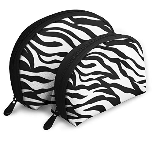 (Deborah Saddsdr Zebra Print Pattern Portable Storage Bag Travel Cosmetic Beauty Bag Convenient for Unisex/School/worl/Life/Party)