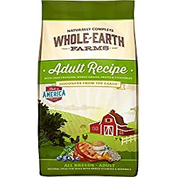 Merrick Whole Earth Farms Adult Dry Dog Food, 25 lbs