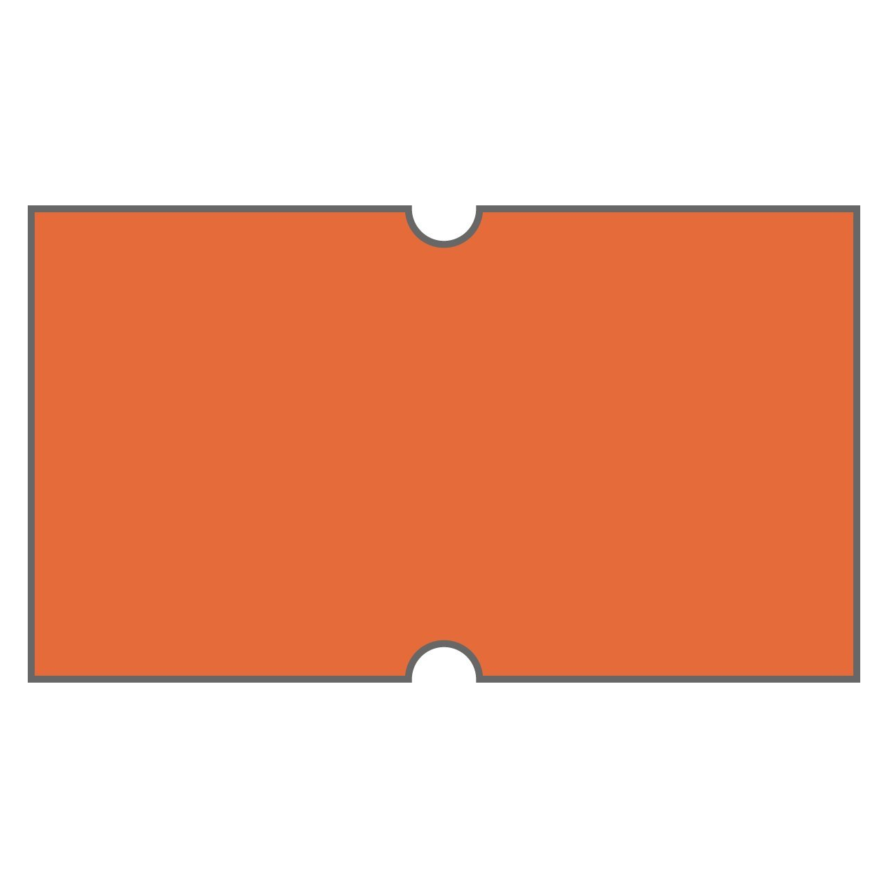 B00ZUK6VG2 DayMark I102990 DuraMark Date Coder Blank Permanent Label, For DM3 SpeedyMark 10 1-Line Marking Gun, Florescent Red (Pack of 8 Rolls) 51vGHg6xaJL