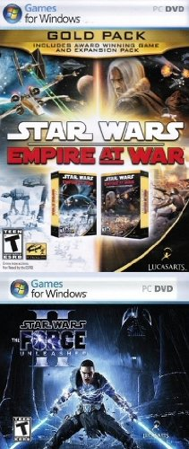 Star Wars: Empire At War Gold Pack + Star Wars: The Force Unleashed II