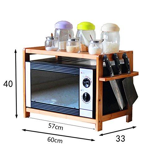 GYP Estante para horno de microondas, estante de ...