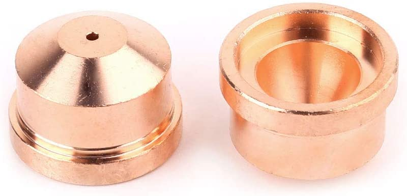 MIG MAG Schwei/ßbrenner Gasd/üse Yintiod Schwei/ßzubeh/ör A101 A141 Elektrodend/üse 1,7 mm 1,4 mm Plasma-Schneidbrenner-Verbrauchsmaterial