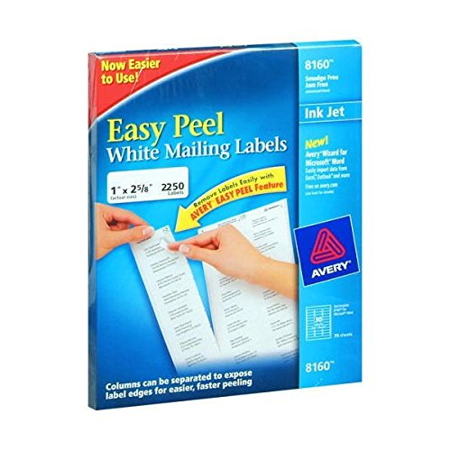 Avery 8160 Easy Peel White Address Labels 1