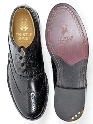 Executive Thistle Leather Traditional Custom Grade Ghillie Brogue - Wide Fit (Leather Ghillie)