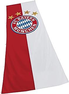 Digni Drapeau FC Bayern München Logo XL - 150 x 400 cm Sticker gratuit