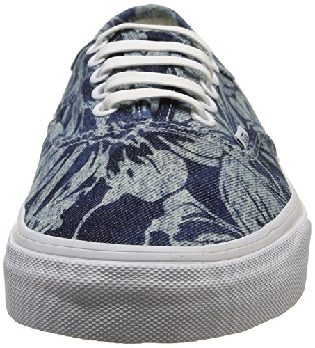 Vans Authentisch (Indigo Tropical) Blau / Weiß