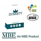 Dynasty Copy Paper, White Paper, 8.5 x 11, Letter, 92 Bright, 1 Ream/500 Sheets - Diversity Product, MBE Certified (200550R)