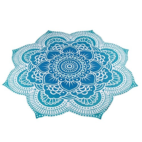 Price comparison product image Beach Towel Blanket,Mikey Store Beach Throw Tapestry Boho Cotton Beach Towel Round Yoga Mat (4)