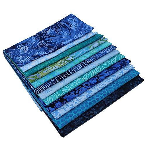 Island Batik Blue Batiks 12 Fat Quarters