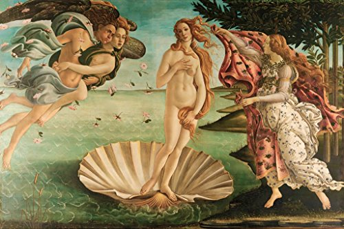 ArtParisienne The Birth of Venus by Sandro Botticelli Paper Giclée Fine Art Print