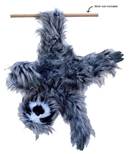 Adore 20&Quot; Happy The Farting Three Toed Sloth Plush Stuffed Animal Toy -