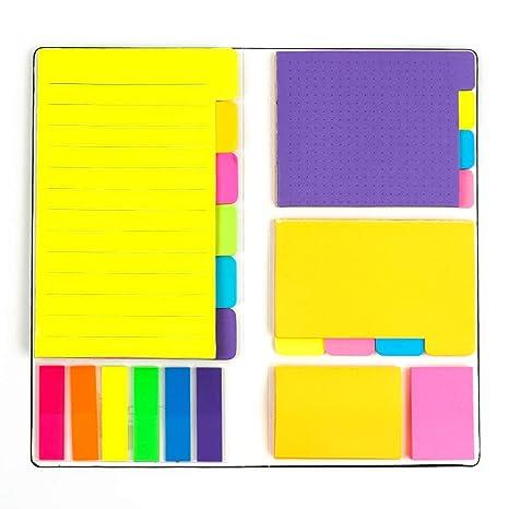 Amazon.com: Juego de notas adhesivas para separador de ...