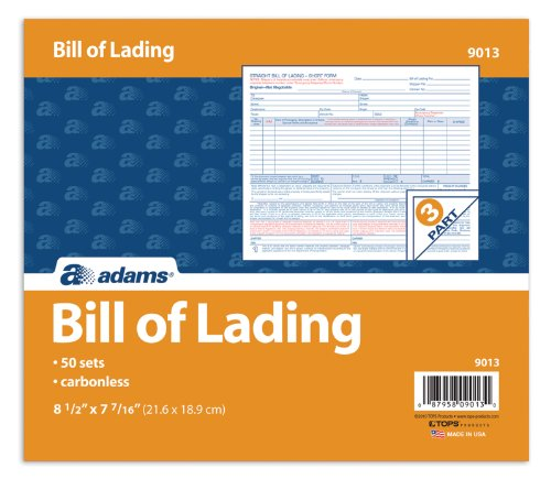 Customer Invoice Software Word Amazoncom  Adams Bill Of Lading Short Form  X  Inches   Old Navy Return Without Receipt Word with Pulled Pork Receipt Pdf Amazoncom  Adams Bill Of Lading Short Form  X  Inches Part  Forms White   Blank Shipping Forms  Office Products Free Invoice Creator Online Word