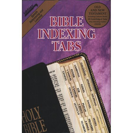 - Tabbies Bible Index Tabs - Catholic with Gold Edges