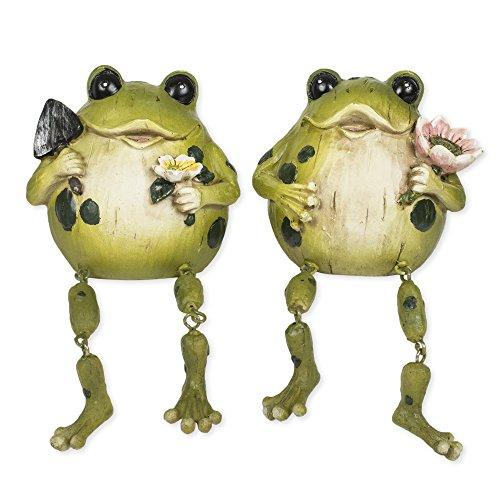 mr-and-mrs-dangling-leg-frog-6-inch-resin-outdoor-garden-figuine-set-of-2
