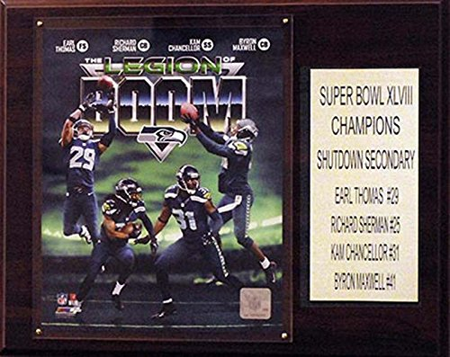 C&I Collectables NFL Seattle Seahawks Legion of Doom Plaque from C&I Collectables
