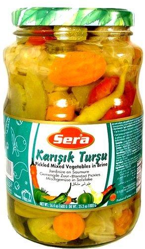 Sera Mixed Pickles - 3.3lb (1.6kg)