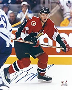 Autographed Jason Spezza 8x10 Ottawa Senators Photo