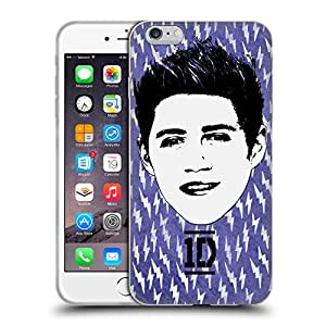 Official One Direction 1D Print Graphic Faces Niall Soft Gel Back Case Cover for Apple iPhone 6 Plus 5.5