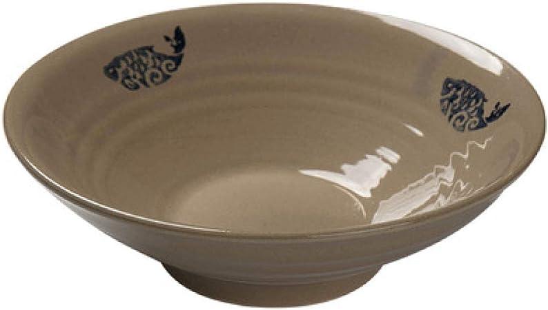 Ensaladera de cerámica Tazón de sopa de ramen Tazón (juego de 3 piezas): Amazon.es: Hogar