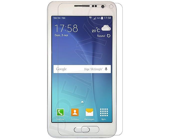 PREMYO Cristal Templado Protector de Pantalla Compatible con Samsung Galaxy A3 Dureza 9H Bordes 2,5D Sin Burbujas contra Arañazos: Amazon.es: Electrónica