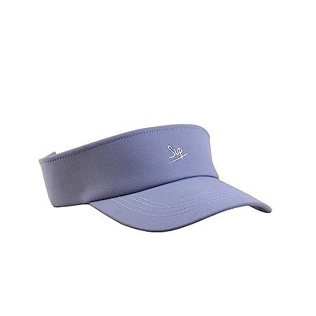 Xuanbao-Hat Visera Ocio Gorra para Sol Mujeres Deportes Fitness ...