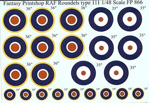 Raf Type - Fantasy Printshop RAF Roundels Type A and C1, 18