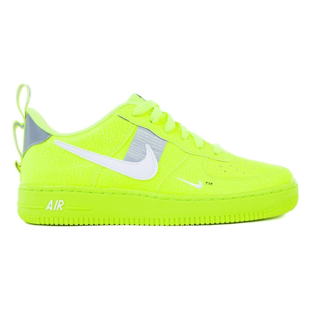 Nike Air Force 1 Lv8 Utility (GS) Big Kids Ar1708 001, Black